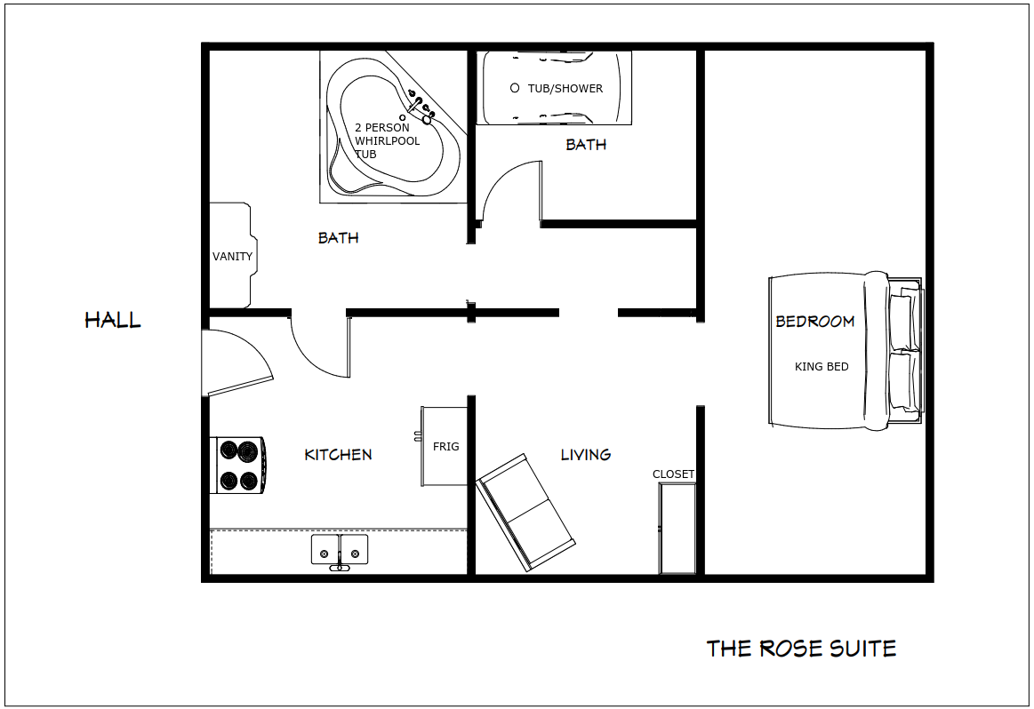 The Rose Suite